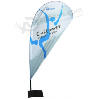 Top Quality Custom Beach Flag Printed Factory
