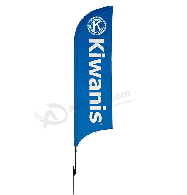 Custom Flag Maker Outdoor Feather Banners Flags Wholesale