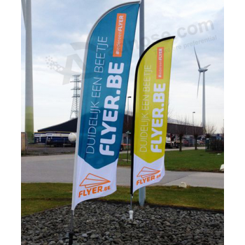 Custom Flag Printing Cheap Feather Banner Flags Wholesale