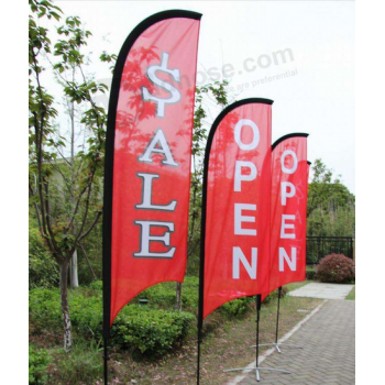 Custom Feather Advertising Flags Business Feather Flags