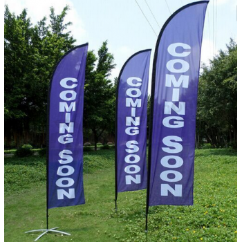 Custom Printed Business Swooper Flags Wholesale
