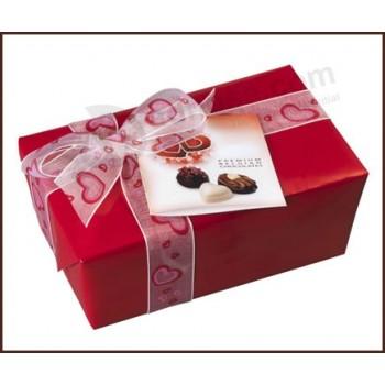 Luxury red color wedding chocolate gift box cheap wholesale  sc 1 st  Adnose.com & Shanghai Hanchang chocolate box Co.Ltd. | Advertising printing ... Aboutintivar.Com