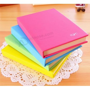Professional Hardcover Notebook Printing with PU Leather Cover