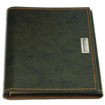 Office Supply with Lock PU Leather Notebook Custom Printing