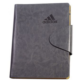 Customized PU/PVC Leather Hardcover Notebook Printing