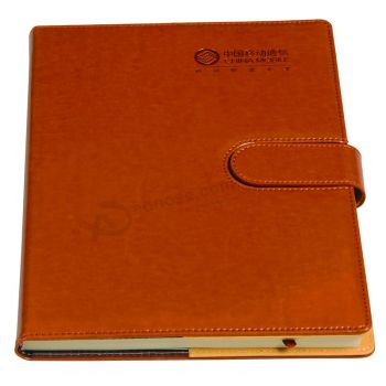 Gift Hardcover Diary PU Leather Notebook Printing