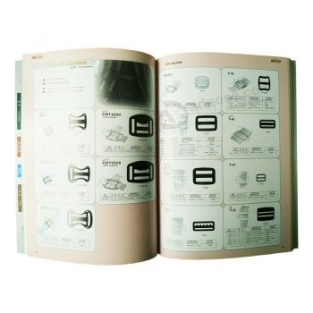 High Quality Full Color Customized Printed Catalogue