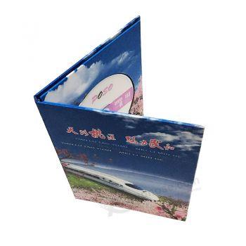 Offset Printing Custom Cardboard CD Case Wholesale