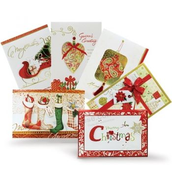 High Quality Christmas Custom Greeting Card with Custom Logo