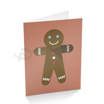 Fancy Cartoon Customized Design Paper Greeting Card