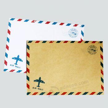 Offset Printing Customized Kraft Paper Letter Envelope