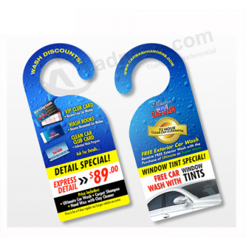 Hot Selling Custom Rear View Mirror Hangers for Advertising