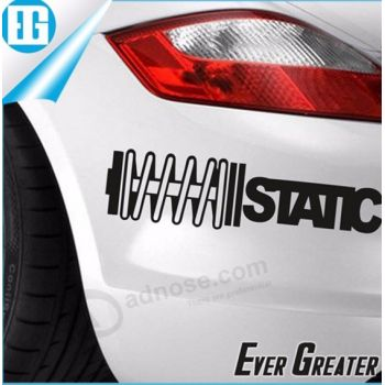 Wholesale Custom Logo Printed Adhesive Custom Car Bumper Stickers - Custom car bumper stickers