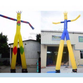 8-10mH Inflatable Air Tube Man / Sky Dancer For Sale