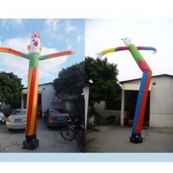 Cheap Clown Inflatable Sky Air Dancer For Advertising