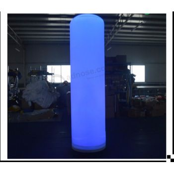 New Zealand H:3m lighting inflatable column, LED inflatable wedding tube for sale