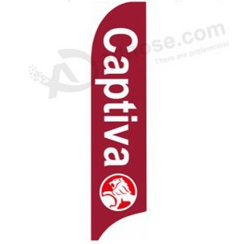 Advertising feather flag banner for indoor outdoor advertising