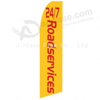 Promotional wholesale teardrop beach flag