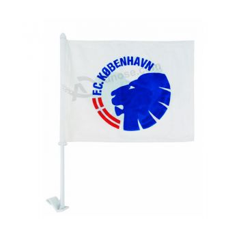 Cheap factory supply CF062 polyester window car flag