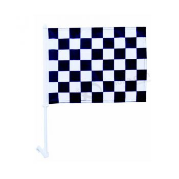 High Quality CF127 Polyester Window Car Flag