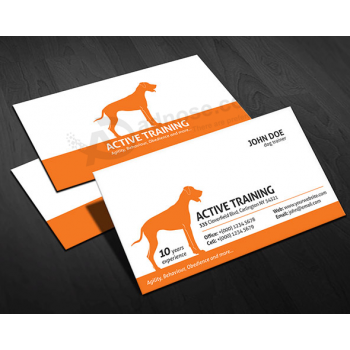 Custom Printed Commercial Paper Name Card Manufacturer