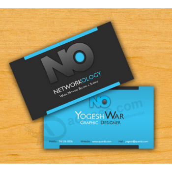 Digital Printing Colourful Business Visiting Card Custom