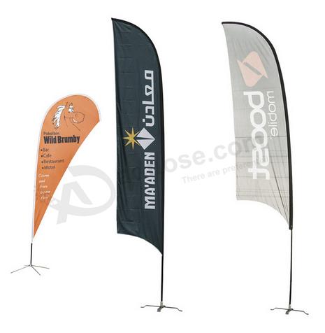 Custom Fabric Flags Swooper Flag Cheap Wholesale Buy