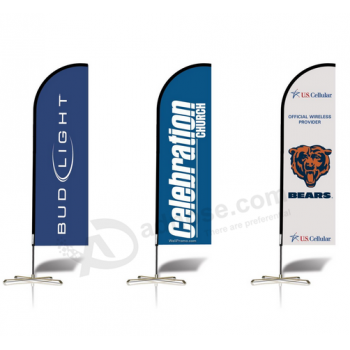Personalized Outdoor Flags Advertising Feather Flags
