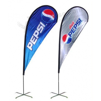 Outside Advertising Flags for Business Advertising