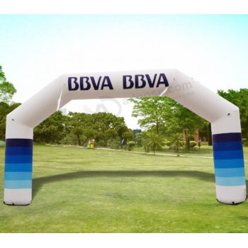 PVC/OXFORD cheap inflatble finish line arch,inflatable arch entrance