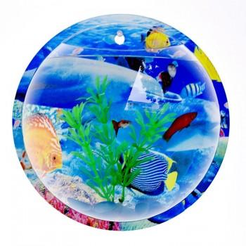 Acrylic Wall Hanging Fish Tank Wall Mounted Fish Bowl