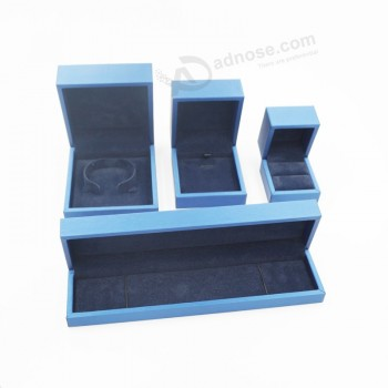 Wholesale customized high quality Ring Necklace Bracelet Diamond Wooden Box (J111-E)