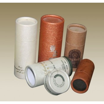 Customized Luxury Paper Tube Gift Box with Logo Printed