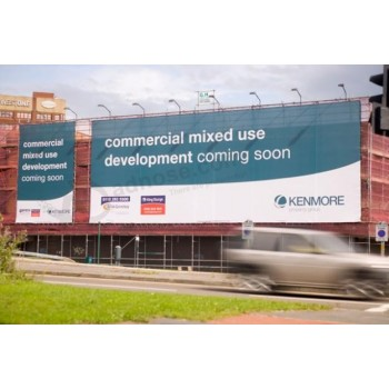 Wholesale customized high quality WLarge Format Outdoor Advertising Mesh Banners for Buildings