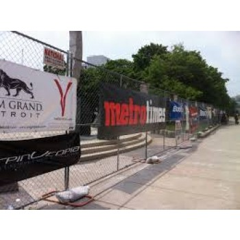 Wholesale customized high quality Wall Advertising Mesh Fence Banner for Sports Event