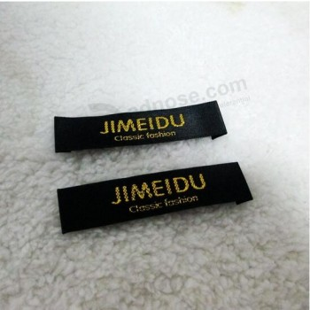 High Quality Woven Fabric Clothing Label for Garment Wholesale