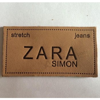 Cheap Wholesale Manufacturer Leather Label for Man and Woman Garment