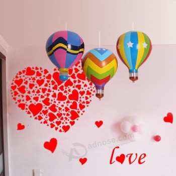 Wholesale Nice Festival Decoration Christmas and Holiday Party PVC Inflatable Hot Balloon for Hanging