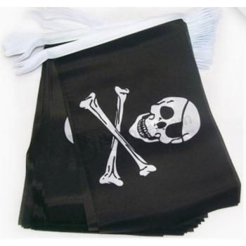 Digital Printing Custom Pirate Flag Bunting For Sale