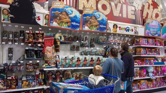 Toys 'R' Us files for bankruptcy protection in US