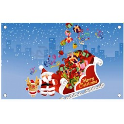 Custom Christmas vinyl flex banner media best price