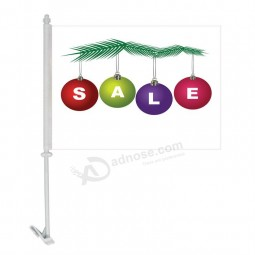 Wholesale Customized Top Quality Factory Window christmas flags Car Flags