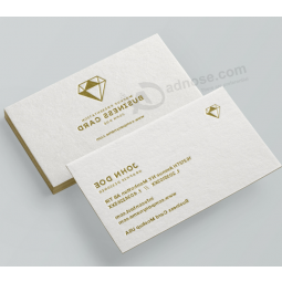 Gold foil transparent plastic visit card business cards buy factory custom embossed cotton paper business card colourmoves