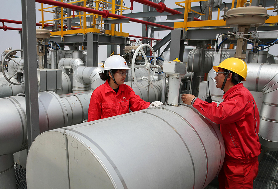 Sino-US oil, LNG trade could grow