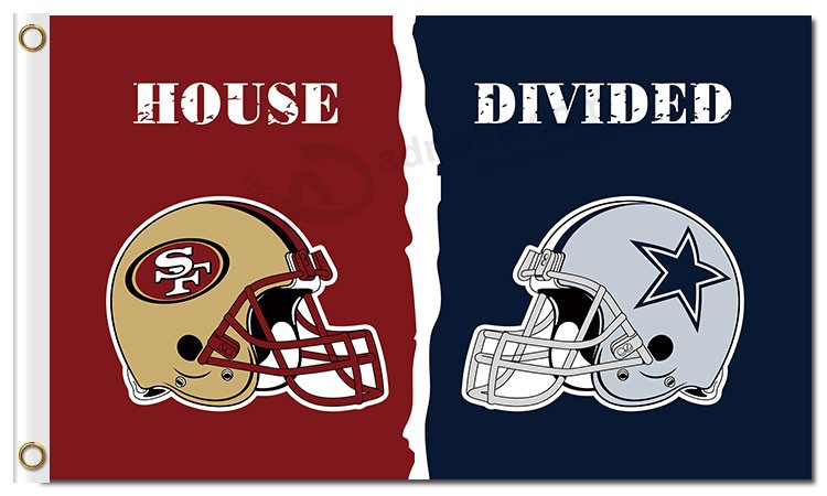Nfl San Francisco 49ers 3 X5 Polyester Flags House