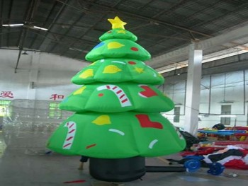 commercial grade giant nice printing inflatable christmas tree for