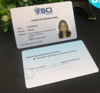 Wholesale employee photo plastic business pvc cards staff name card wholesale employee photo plastic business pvc cards staff name card with magnetic strip manufacturer reheart Image collections