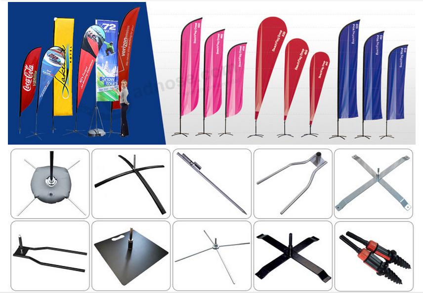 Wholesale Flag Pole Aluminium Cross Base With Rotor Buy