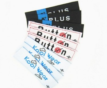 wholesale custom name label garment clothing woven labels buy
