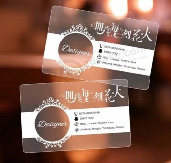 Custom printing transparent business visiting id card buy product custom printing transparent business visiting id card colourmoves